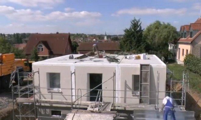 Дома Dennert строятся из немецкого экобетона