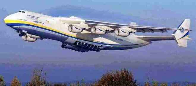 Самолет Ан225 Мрия