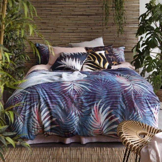 Постельное бельё с которым интерьер спальни не будет скучным