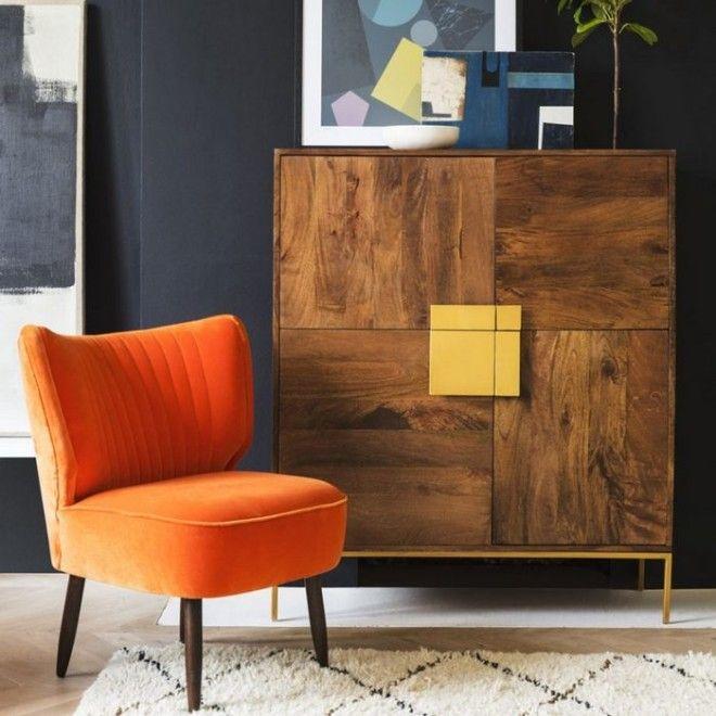 Мебель в стиле ретрогламур