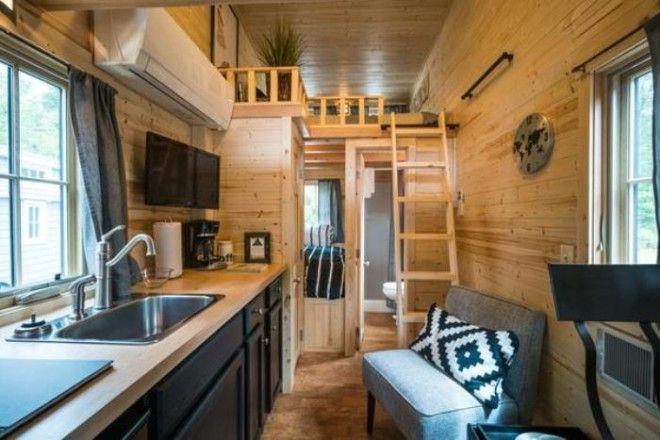 Интерьер дома на колесах отличный пример для обустройства маленькой квартиры