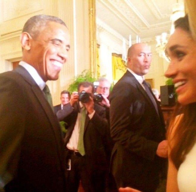 Встреча с Бараком Обамой 2015 г