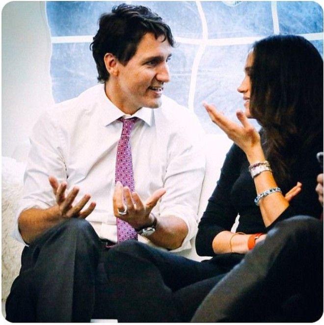 Дискуссия с премьерминистром Канады Джастином Трюдо Октябрь 2016 г