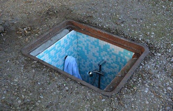Инсталляция Borderlife Ванная комната
