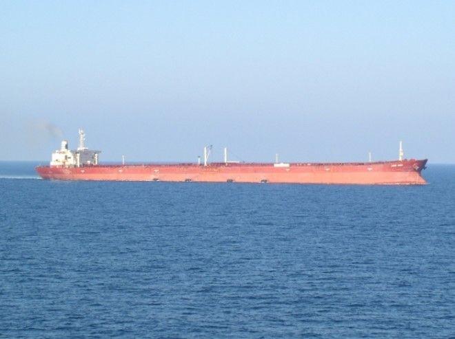 К сожалению судно Knock Nevis уже никуда не пойдет