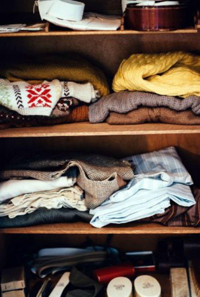 Приятный запах в шкафу