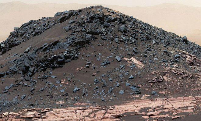 Лучшие снимки марсохода Curiosity и последние новости с Красной планеты