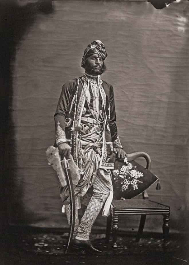 Портрет неизвестного мужчины Джайпур примерно 1857 год