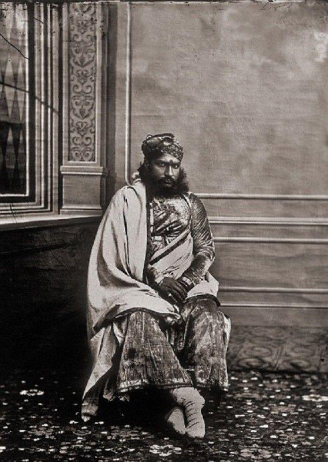 Министр махараджи Джайпур примерно 1857 год