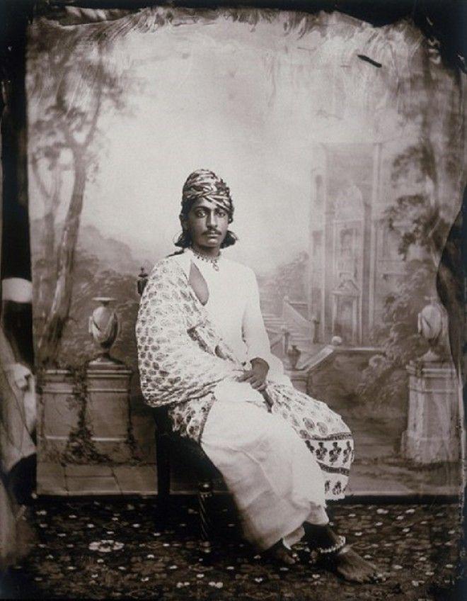 Портрет принца Джайпур примерно 1857 год