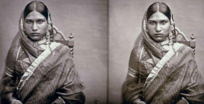 Редкий снимок который был сделан самим махараджей Рамом Сингхом II