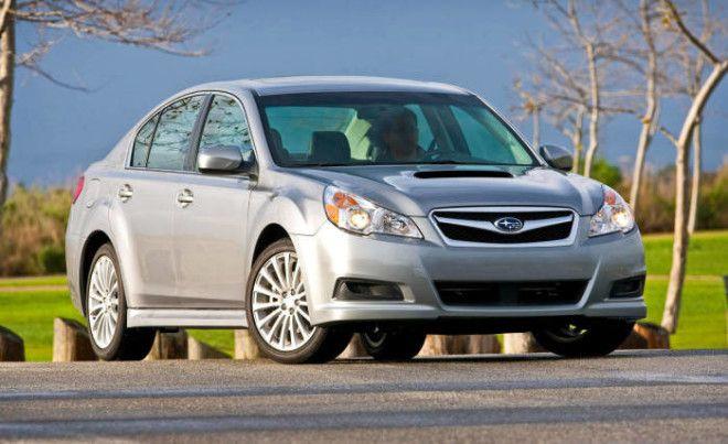 Subaru Legacy пятого поколения хорош на каждый день и не на один год