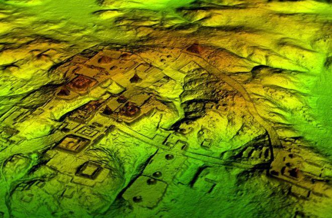 В джунглях Гватемалы обнаружили затерянный «мегаполис» майя