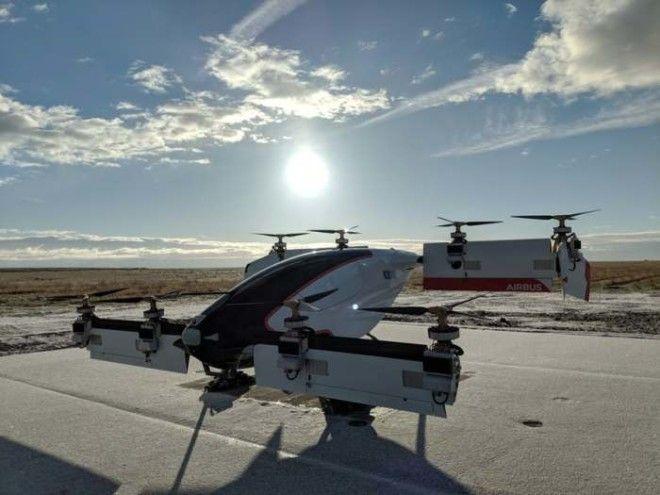 Летающее такси от Airbus совершило первый полет