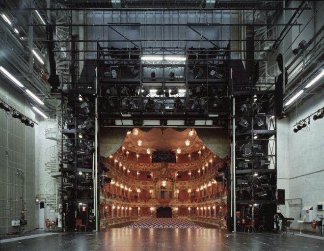 Зрительный зал со сцены