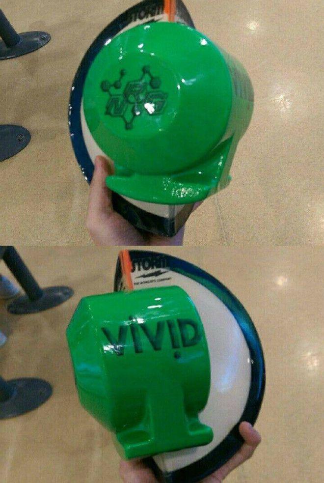 Разрезанный шар для боулинга
