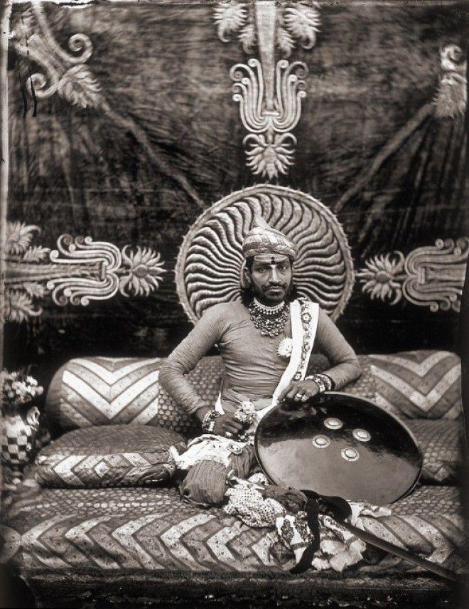 Правитель Джайпура Рам Сингх Джайпур примерно 1857 год