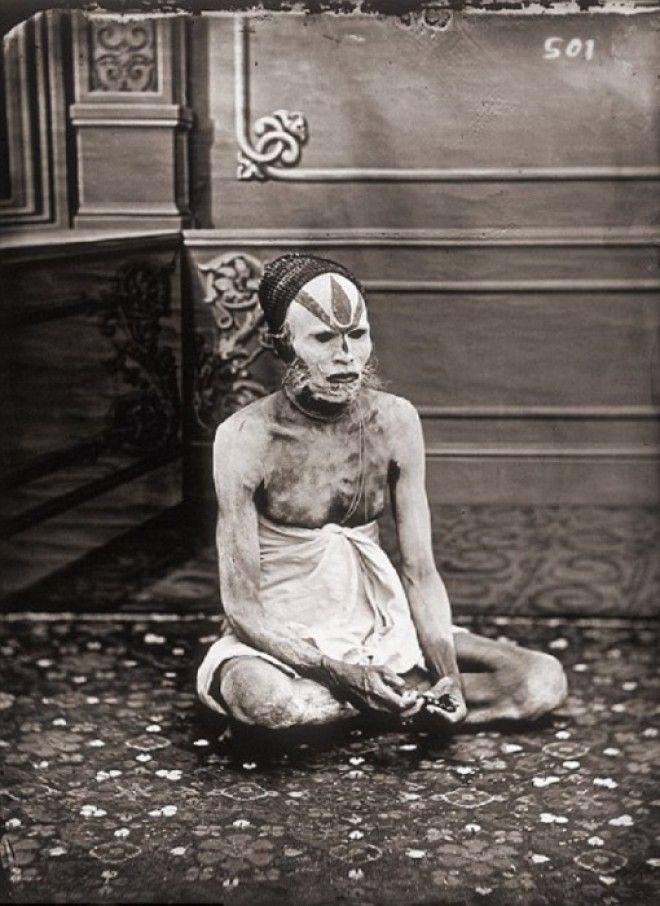 Портрет факира Джайпур примерно 1857 год
