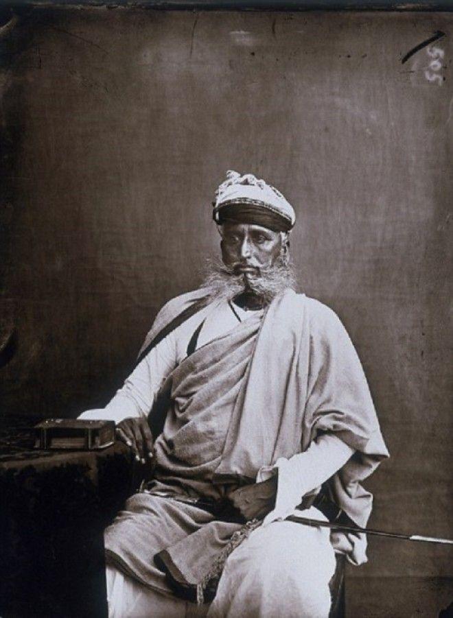 Один из министров махараджи Джайпур примерно 1857 год
