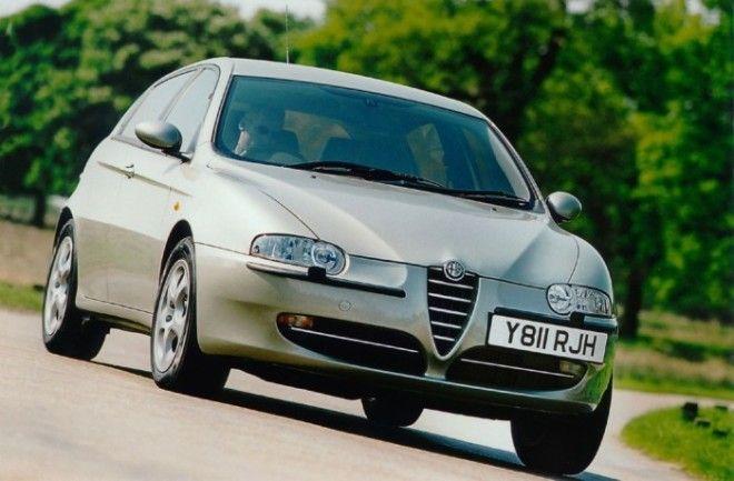 Alfa Romeo 147 красиво и очень ненадёжно