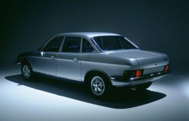 Передовой дизайн NSU Ro 80 использовался в последующих моделях Audi