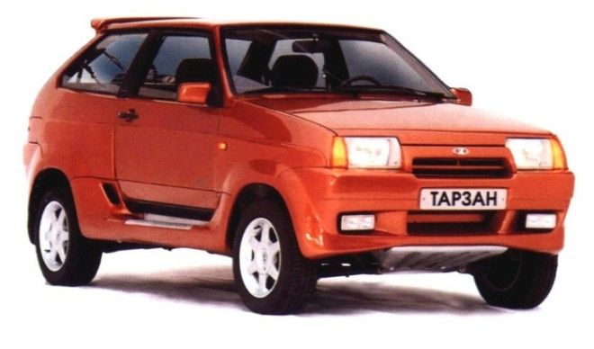 Славный автомобиль ВАЗ 210934 Тарзан
