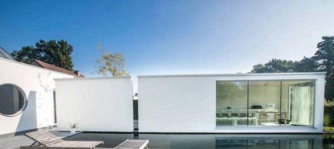 К тому же подобные модульные дома можно соединять с другими блоками чтобы максимизировать пространство и точки доступа естественного света