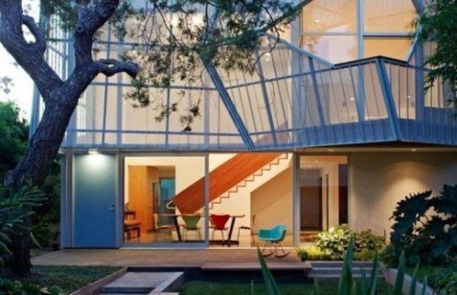 Данный дом выполнен из алюминиевого каркаса что делает его достаточно лёгким но при этом прочным Приятный бонус оригинальные балконы