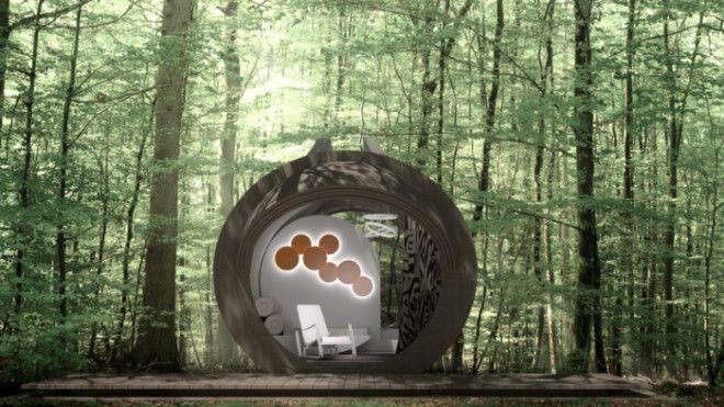 Конструкция под названием Drop Eco Otel придумана креативной группой InTenda а воплощена в жизнь студией Urban Square в проекте мобильного экоотеля