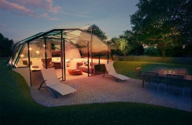Лондонская команда архитекторов и учёных разработавших этот проект заверяет что такой дом можно построить почти в любом месте и даже перемещать