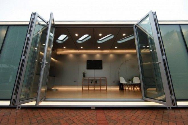 Этот дом можно использовать для ведения бизнеса например в качестве офиса мобильного магазина студии выставочного зала или что вам подскажет ваша фантазия