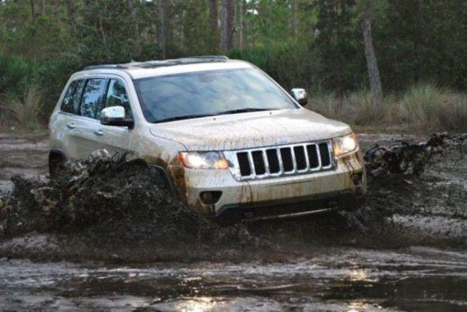 Стиль и проходимость в Jeep Grand Cherokee