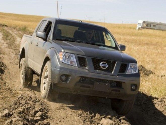 Nissan Frontier PRO4X грязи не боится