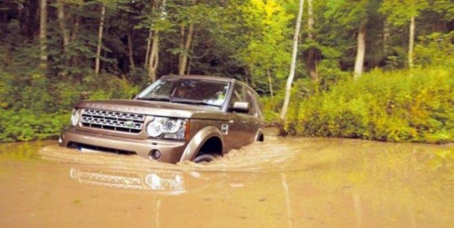 Если надо Land Rover LR4 и проплывет