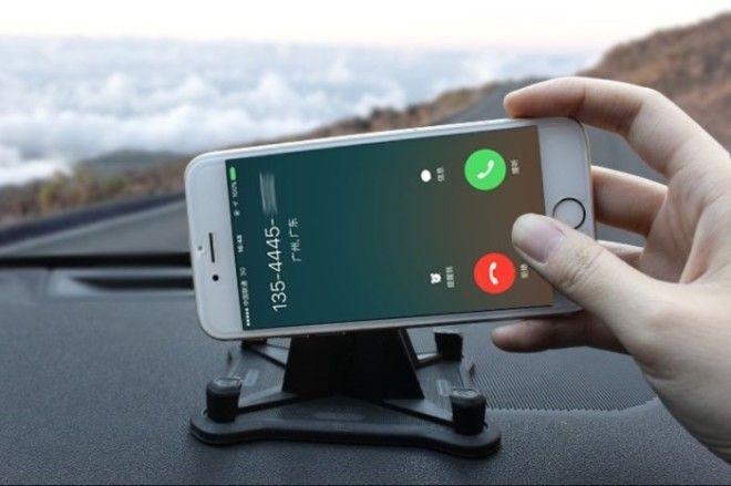 Крепление смартфона с настраиваемым углом поворота