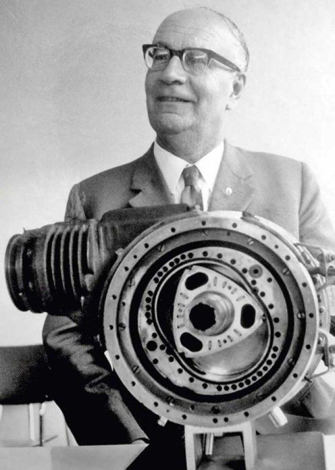 Феликс Ванкель и роторнопоршневой двигатель его конструкции
