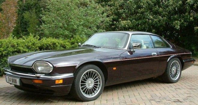 Спортивный автомобиль Jaguar XJS с двигателем V12
