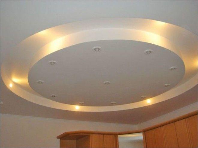Подвесной многоуровневый потолок только для больших квартир