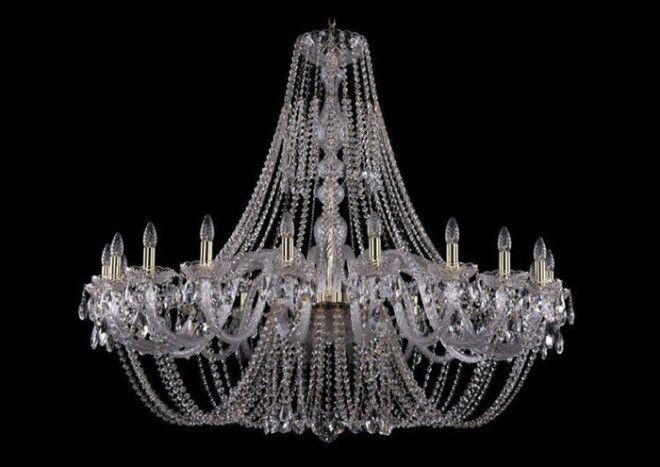 Длинные люстры роскошь уместная только в комнатах с высокими потолками и большой площадью