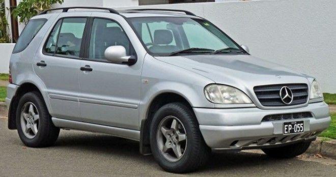 MercedesBenz Mklass 19972001 гв