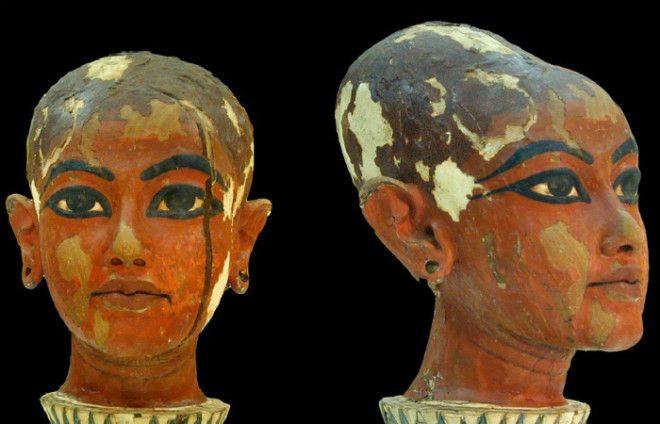 Детский скульптурный портрет Тутанхамона
