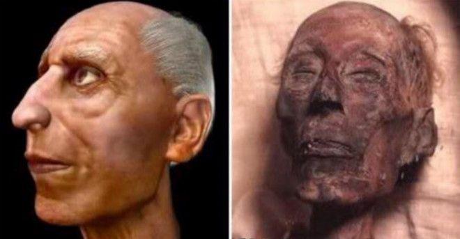 У Рамсеса II по прозвищу Великий был низкий лоб что огорчило бы расологов XX века