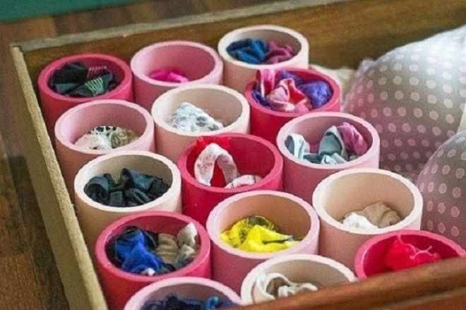 Что поместить в такой органайзер решать вам платки нижнее белье носки что угодно