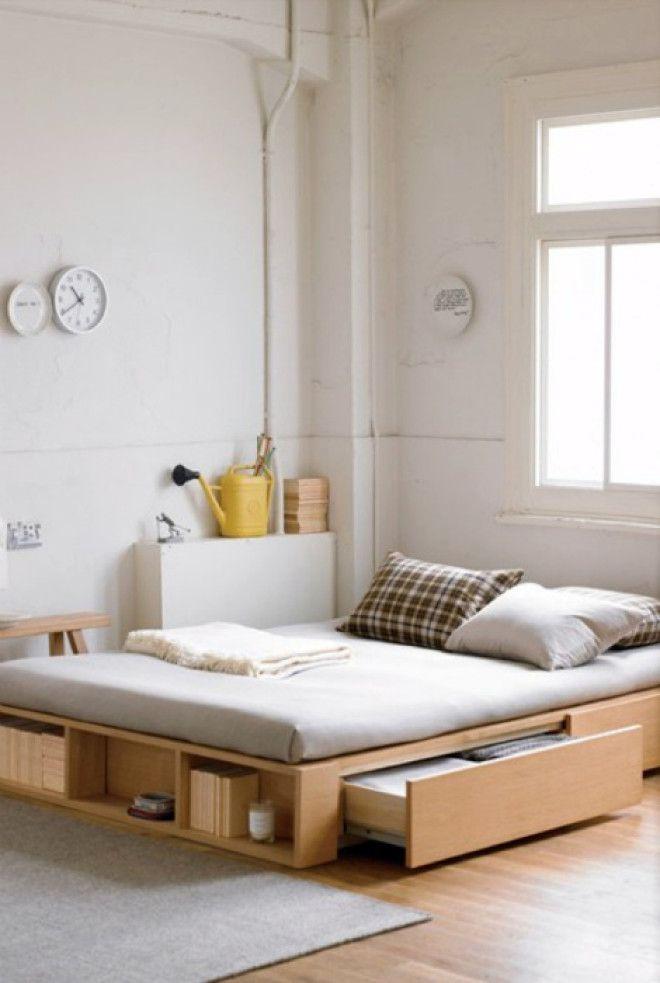 Кровать с функциональным каркасом