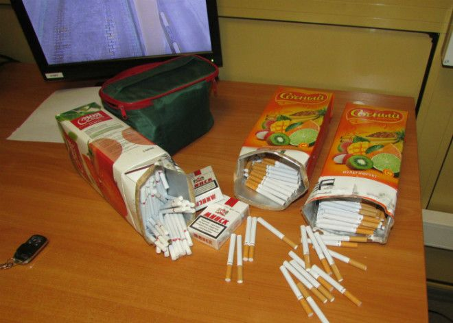 Перевозка сигарет