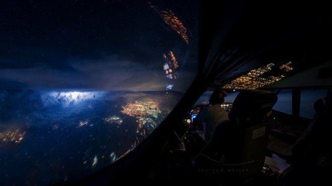 Потрясающий вид который открывается взору пилотов