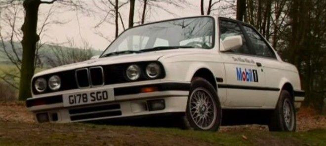 BMW 325i который использовался для испытаний масла Mobil 1