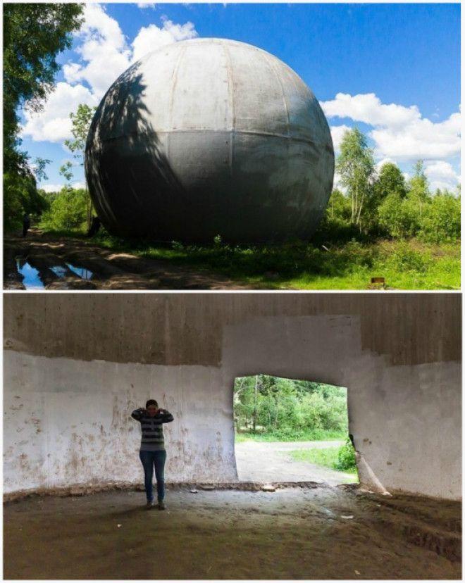 Огромная конструкция с удивительной акустикой внутри