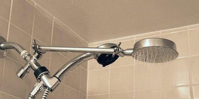 съёмная квартира: душ