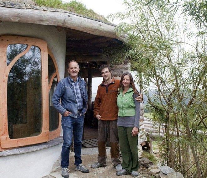 Саймон и Жасмин Дейл построившие частный дом